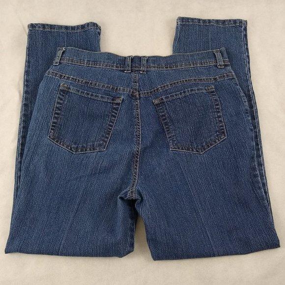 Gloria Vanderbilt Denim - Gloria Vanderbilt Blue Jeans Petite Size 14P